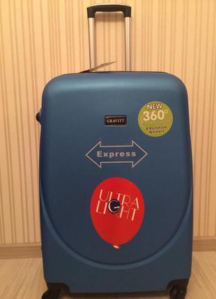 Дешевле только у нас большой чемодан бренд wings валіза сумка на колесах, 100% оригинал!