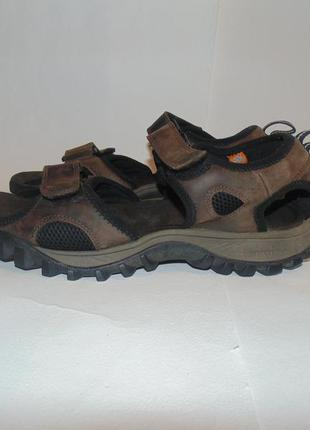 Кожаные сандалии, босоножки timberland, оригинал, р-р 10, ст 28 см