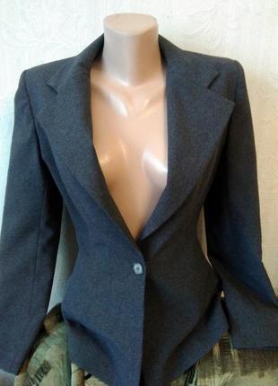 Стильный классический приталенный пиджак, жакет