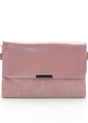 Клатч барсетка l-106 светло розовый (6 цветов)