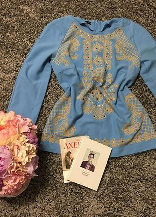 Шикарна блуза -трапеція