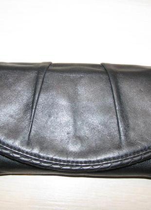 Удобный кошелек  marks & spencer кожа
