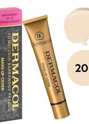 Дермакол dermacol make-up cover тональный крем тон 208 оригинал 30мл