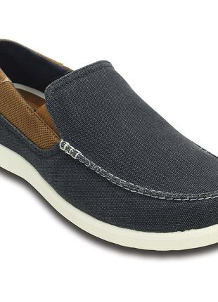 Слипоны крокс crocs santa cruz 2 luxe loafer м11, m12