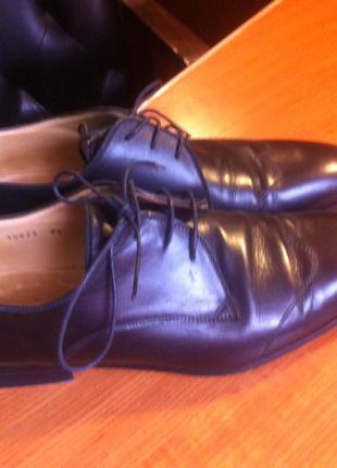 Pollini туфли на шнуровке р. 42,5 ( 8,5 )