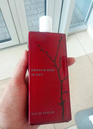 Тестер armand basi in red edp 100 мл