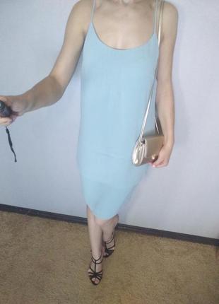 Нежное платье миди h&m