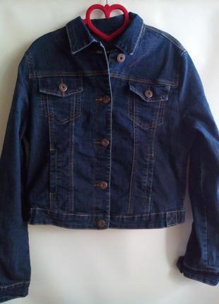 Джинсовая куртка!