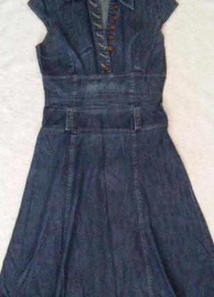 Джинсовое платье, разм. xs-s