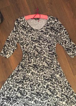 Платье трикотаж миди