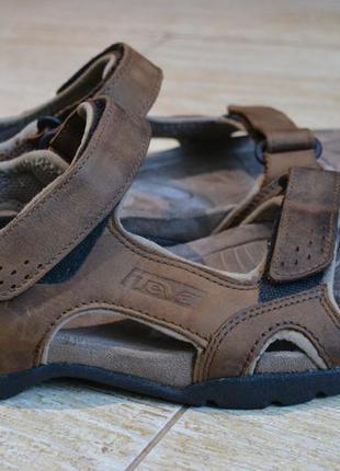 Teva 47р кожаные сандалии, мужские босоножки.