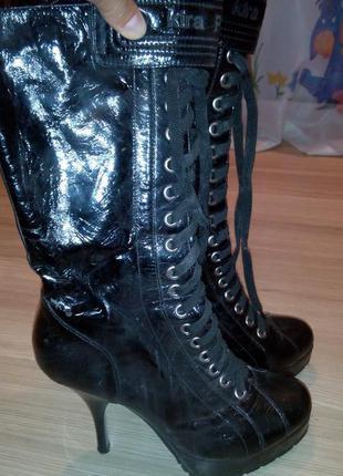 Сапоги - ботинки kira plastinina