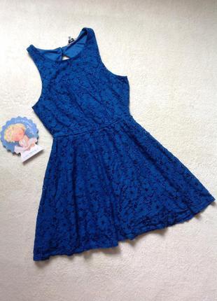 Платье с красивой спинкой