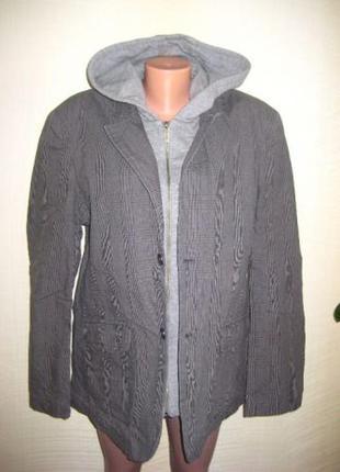 Спортивный повседневный стильный мужской пиджак/куртка от espirit 50/52 размер
