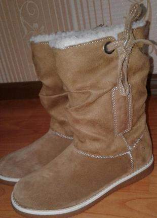 Новые детские зимние сапоги ботинки полусапоги geox. размер 33