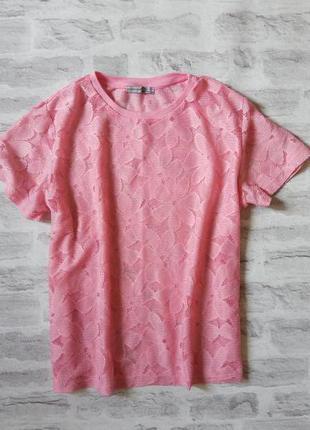 Нежнейшая кружевная футболка/ футболочка / блуза.