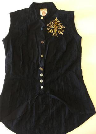 Блузка colins в китайском стиле