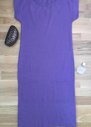 Платье миди мини туника парка benetton теплое кашемировое ангора шерсть