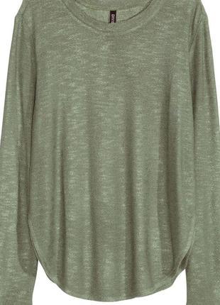Пуловер с разрезами по бокам h&m