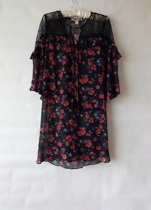 Платье с кружевом forever 21