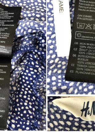 Комбинезон/ летний/синий в белый горошек/спереди на замочке/ размер xs/s5 фото