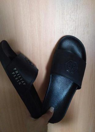 Мужские брендовые   кожаные  шлёпки!!! в наличии  40.41.42.43.44.