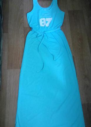 Яркое макси платье от esmara