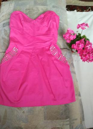 Мини-платье корсет и юбка баллон