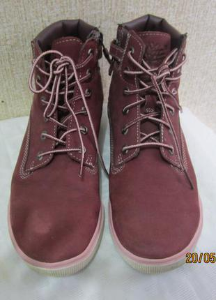 Демисезонные ботинки timberland 38