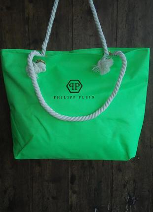 Пляжная сумка с канатными ручками. 9 цветов в наличии.