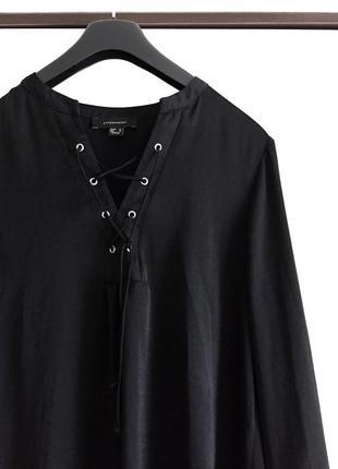 Шикарная блуза с длинным рукавом
