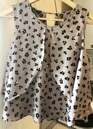 Блуза укорочённая zara