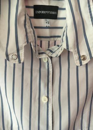 Рубашка с коротким рукавом armani