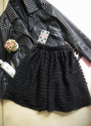 """Пышная черная юбка """"пачка"""""""