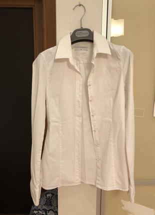 Белая рубашка karl lagerfeld