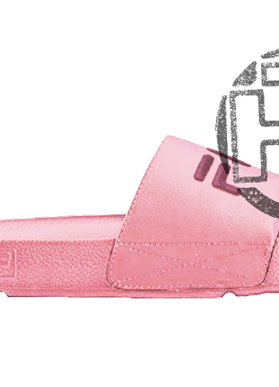 Женские шлепанцы fila slip drifter pink