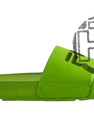 Женские шлепанцы fila slip drifter green