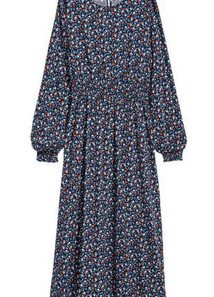 Шикарное платье в принт h&m р 34,36,38,40,42
