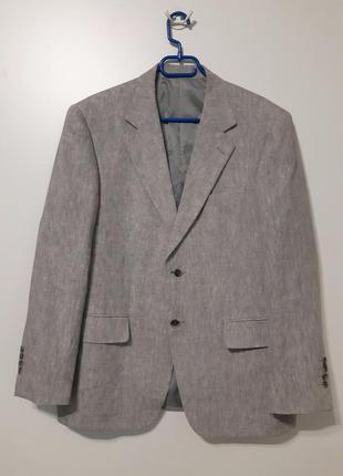 Льняной пиджак balmain