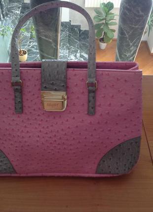 Супер красивая летняя сумка эко кожа