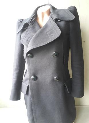 Miu miu шерстяное пальто