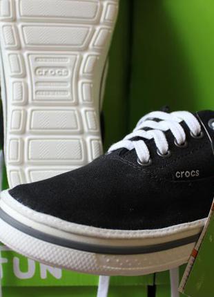 Продам новые мокасины crocs norlin plim мужская обувь крокс кеды сша