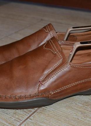 Pikolinos 45р туфли мокасины кожаные. оригинал.