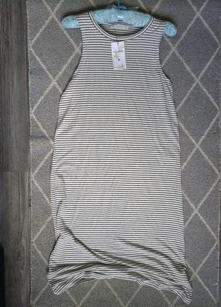 Платье в полоску pull&bear