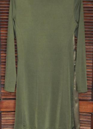Легкое платье, ассиметричный низ