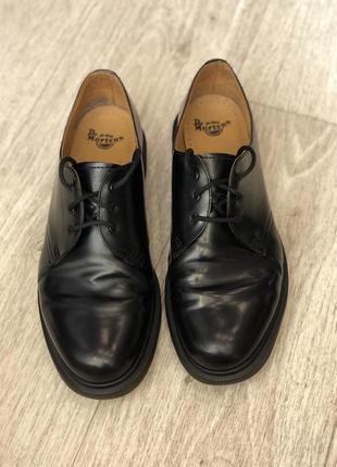 Туфли ботинки dr. martens кожа 100% оригинал