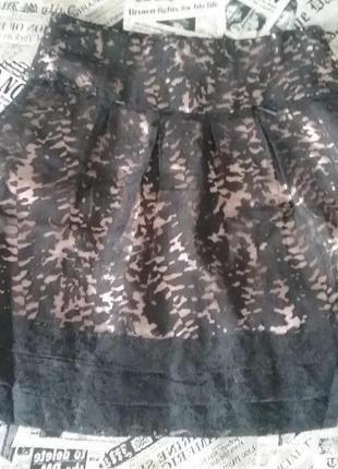 Шикарная нарядная юбка dept