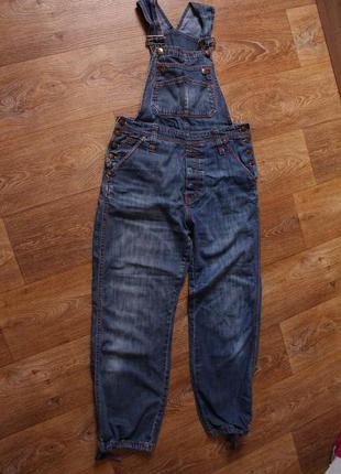 Комбинезон джинсовый h&m
