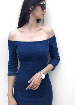 Джинсовое платье от miss selfridge