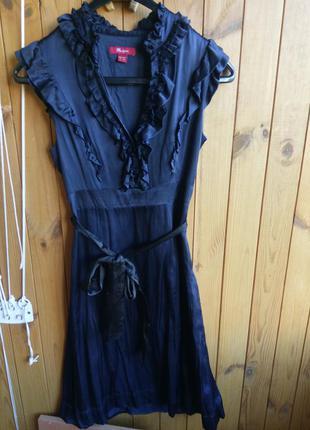 Шикарное шёлковое платье monsoon